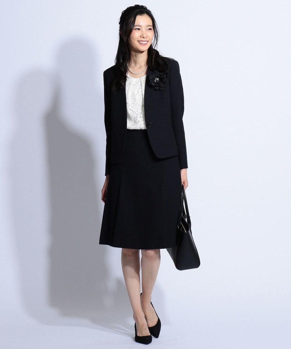 J.PRESS LADIES 【洗える】Lala Lace カットソー アイボリー系