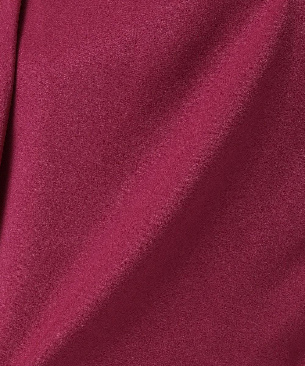 J.PRESS LADIES L 【WEB限定色あり】ピーチサテンVネック カットソー オールドローズ系