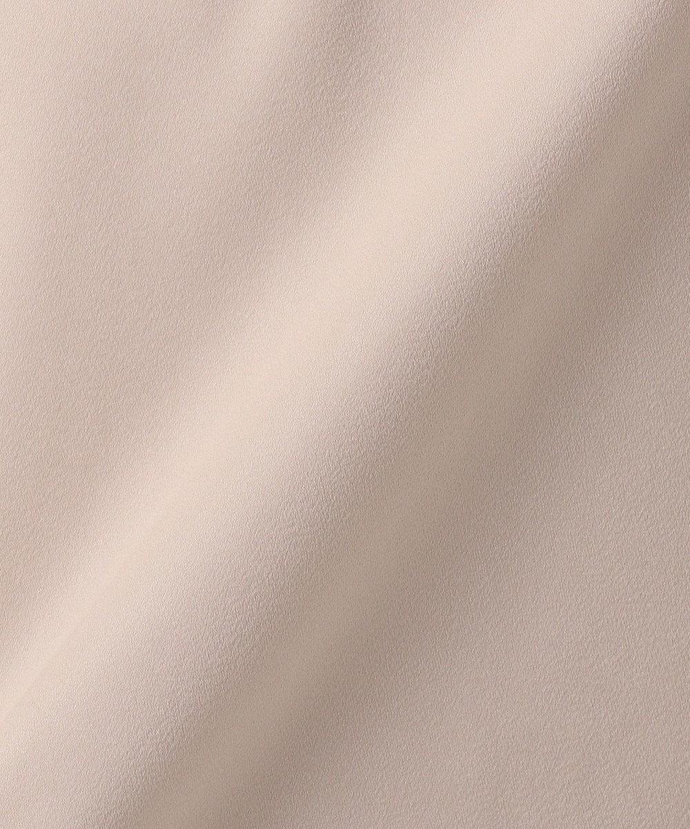 J.PRESS LADIES L 【WEB限定色あり】ピーチサテンVネック カットソー オレンジ系