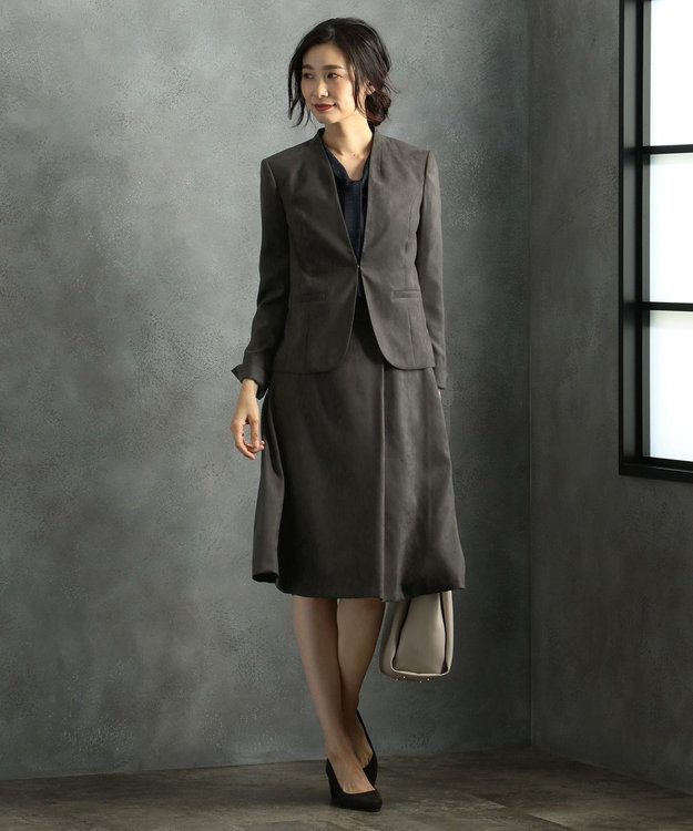 J.PRESS LADIES 【洗える】ドットプリント カットソー ネイビー系5