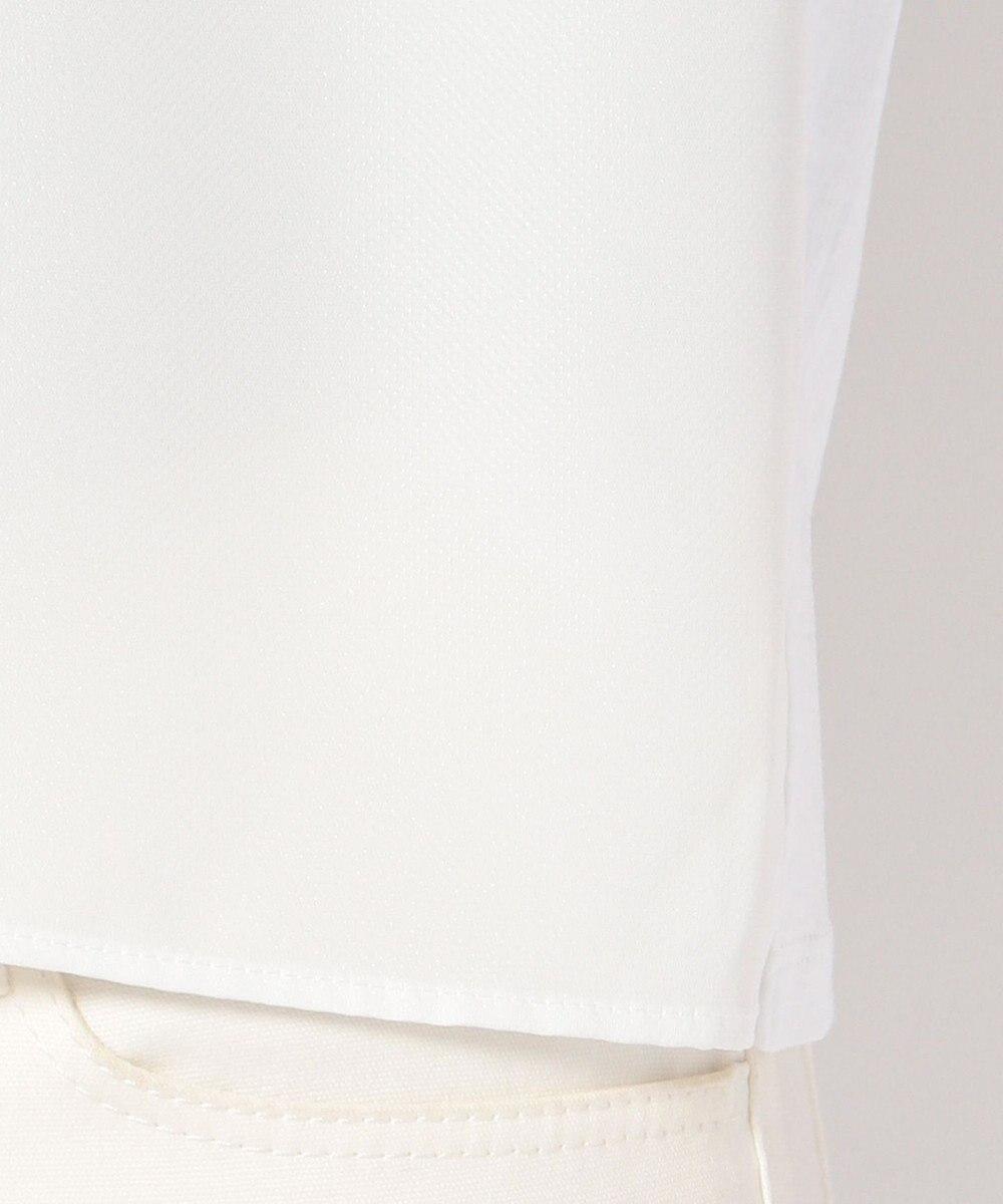 J.PRESS LADIES S 【洗える!】バックサテンドビージャージー ボータイ付カットソー ホワイト系