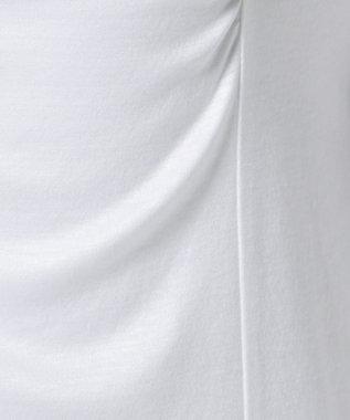 J.PRESS LADIES 【洗える】リヨセルコットンジャージー カットソー ホワイト系