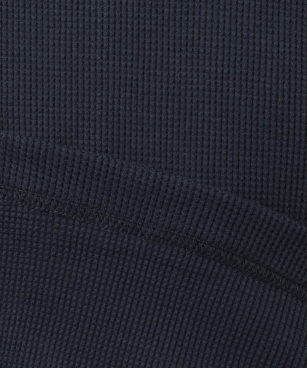 JOSEPH ABBOUD 【キングサイズ・JOE COTTON】ワッフル カットソー ネイビー系