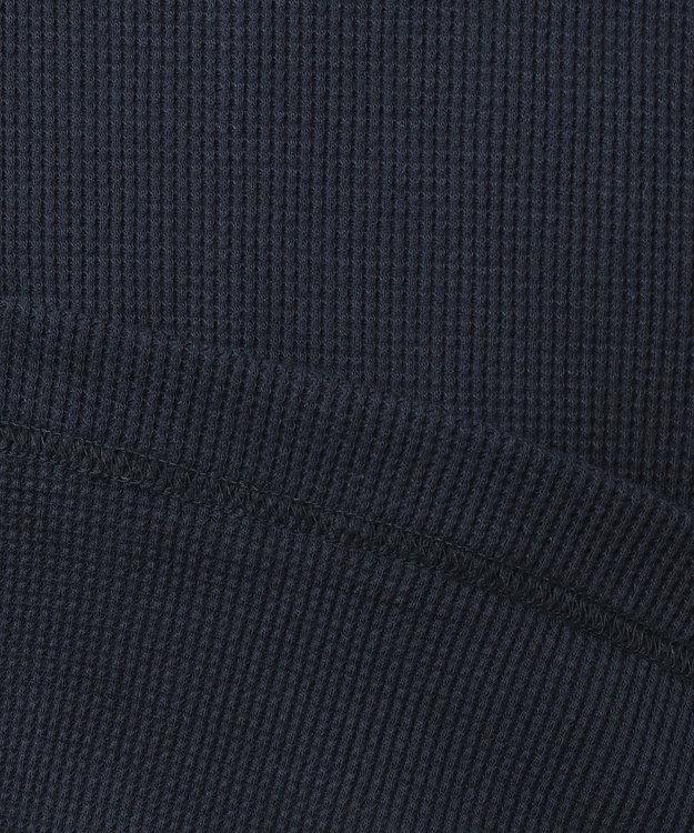 JOSEPH ABBOUD 【キングサイズ・JOE COTTON】ワッフル カットソー