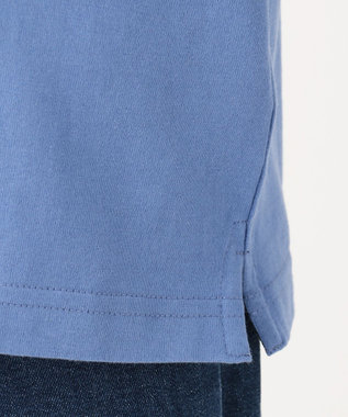 J.PRESS KIDS 【WEB限定/110-130cm】ロゴプリント Tシャツ ブルー系