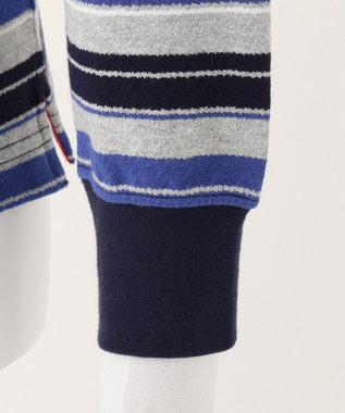 J.PRESS KIDS 【140-170cm】クレープ地 フェイクレイヤード Tシャツ ライトグレー系2