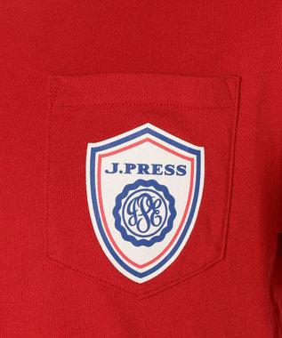 J.PRESS KIDS 【SCHOOL】トランスDアーバンロンストコン カットソー レッド系