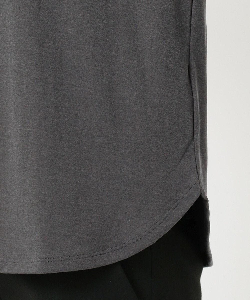 JOSEPH 【洗える】シアーカラージャージー  ラウンドネック Tシャツ グレー系