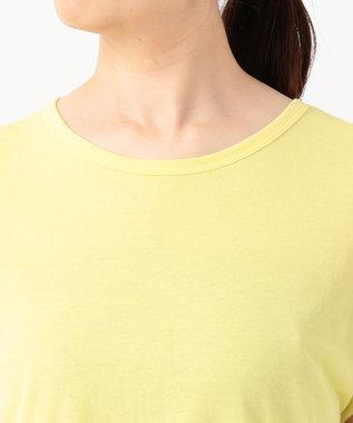 JOSEPH 【洗える】シアーカラージャージー  ラウンドネック Tシャツ イエロー系