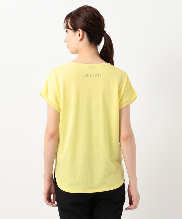 JOSEPH 【洗える】シアーカラージャージー  ラウンドネック Tシャツ