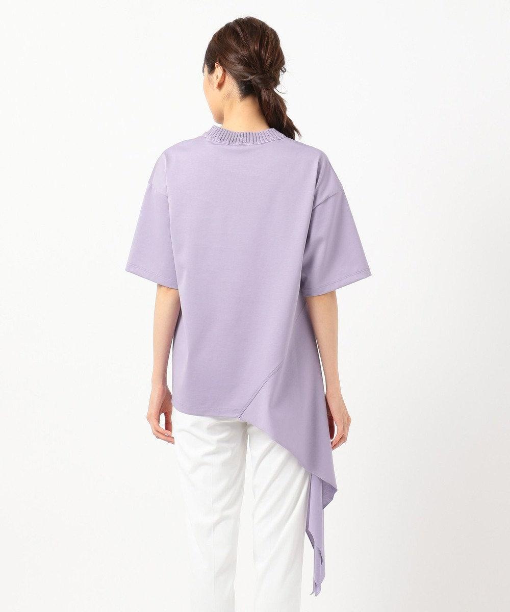 JOSEPH 【大草直子さん推薦】【洗える】クールコットン Tシャツ / カットソー ライラック系