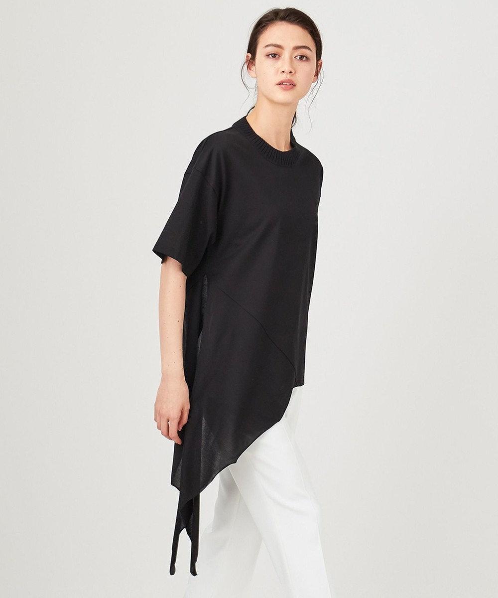 JOSEPH 【大草直子さん推薦】【洗える】クールコットン Tシャツ / カットソー ブラック系