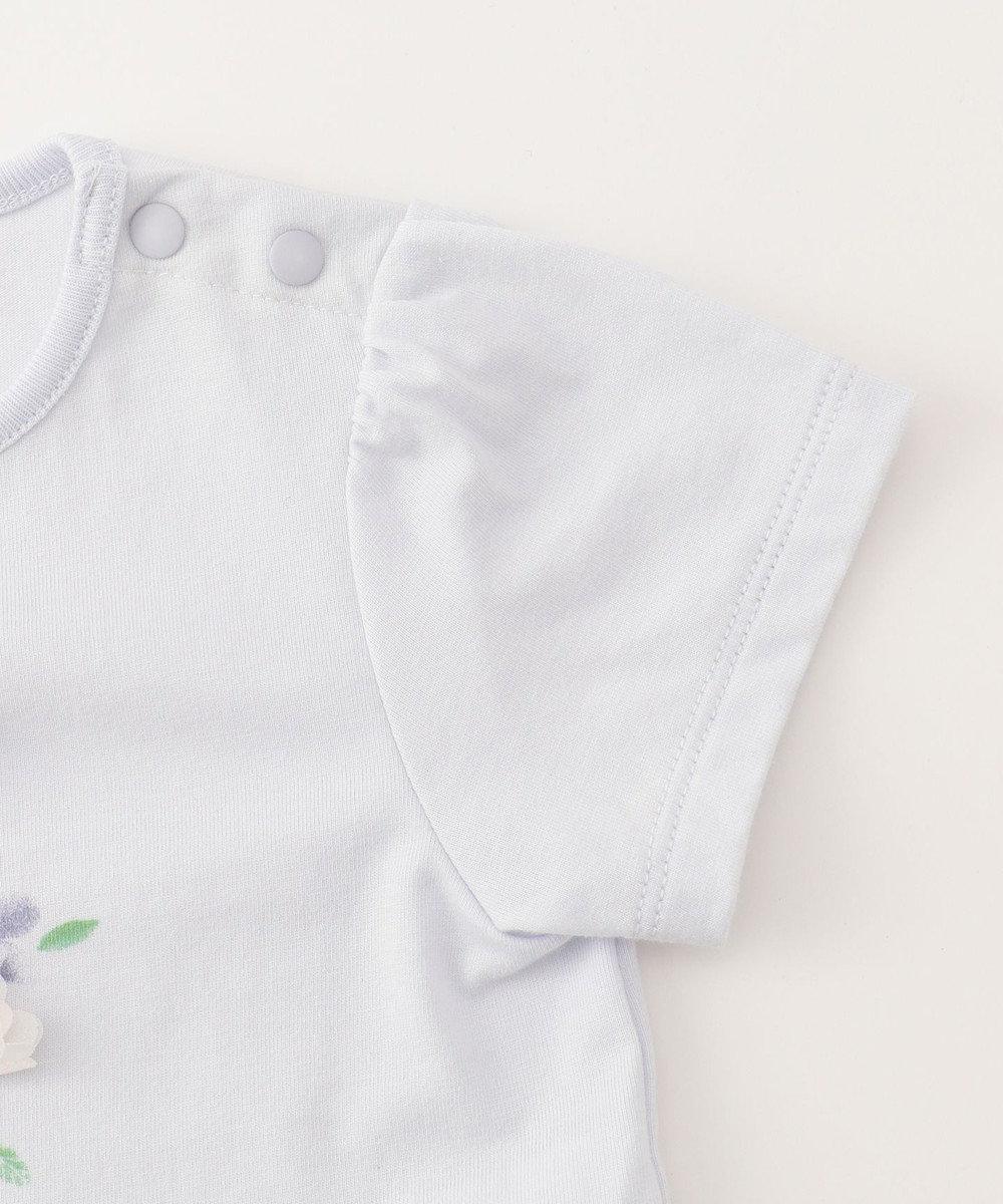 組曲 KIDS 【BABY】30/ー度詰め天竺 カットソー スカイブルー系
