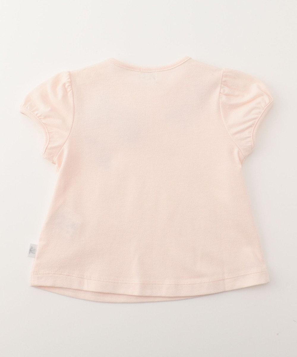 組曲 KIDS 【BABY】30/ー度詰め天竺 カットソー ピンク系