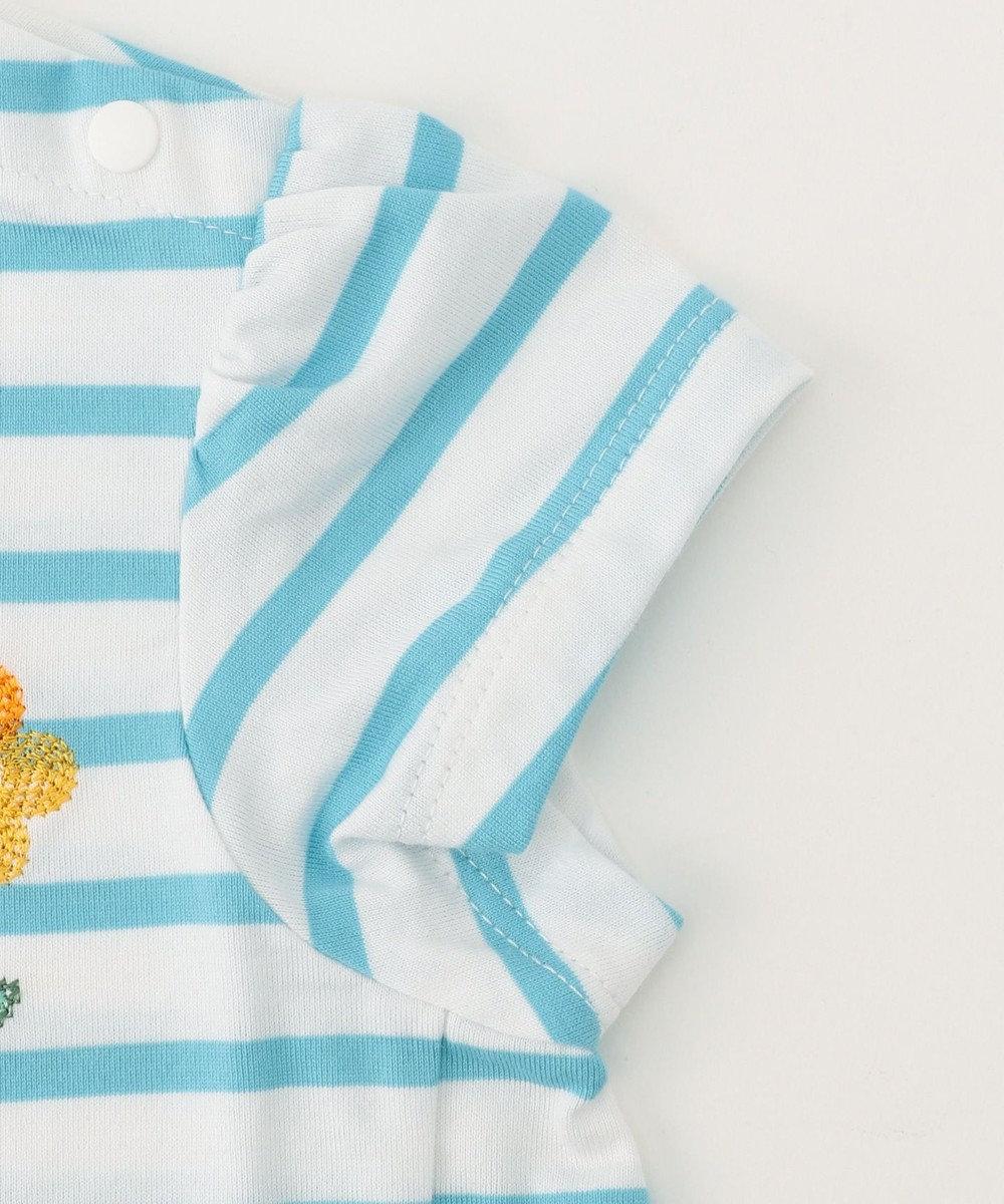 組曲 KIDS 【BABY】マリニエール カットソー サックスブルー系2