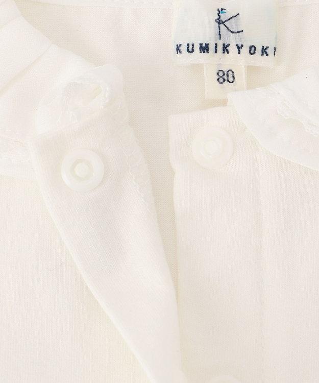 組曲 KIDS 【BABY】50/-シルケット天竺 ブラウス