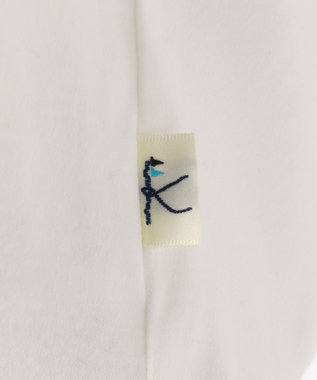 組曲 KIDS 【SCHOOL】フレアフリル Tシャツ アイボリー系
