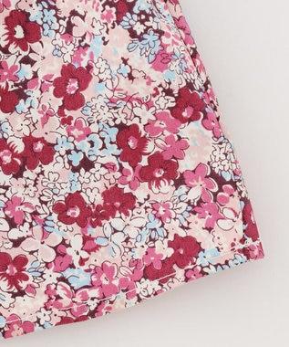 組曲 KIDS 【80-100cm】ディープフラワーカットソー ピンク系5