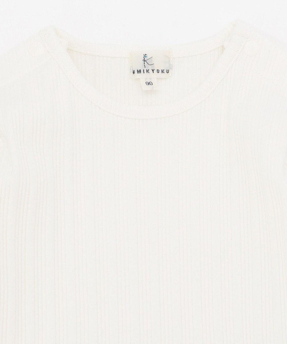 組曲 KIDS 【80-100cm】ウーリッシュチェックレイヤード ベージュ系3