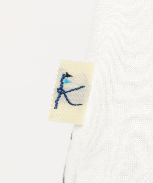 組曲 KIDS 【TODDLER】25/ーGIZA天竺 刺繍 カットソー