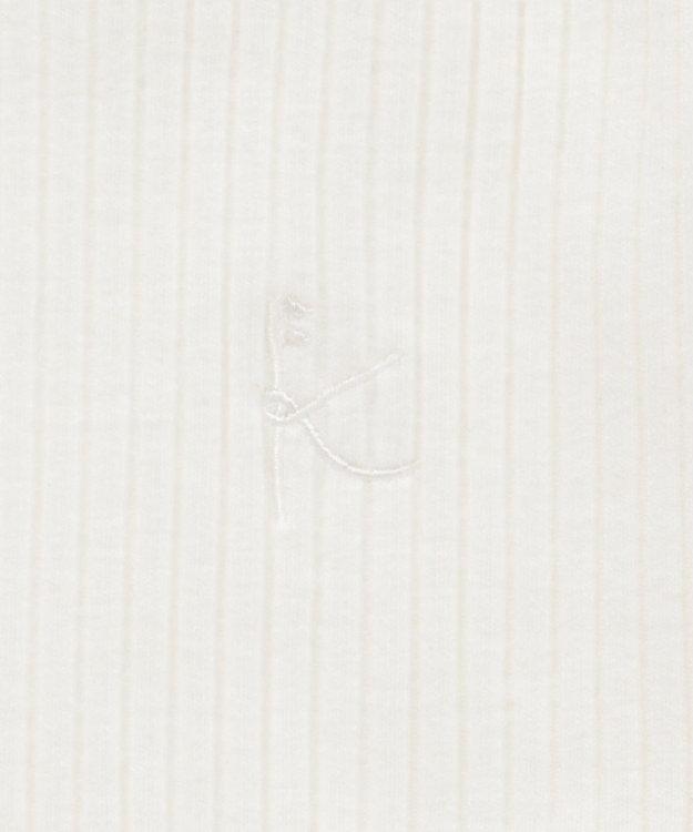 組曲 KIDS 【80~100cm】モノトーンフラワー ツインセット