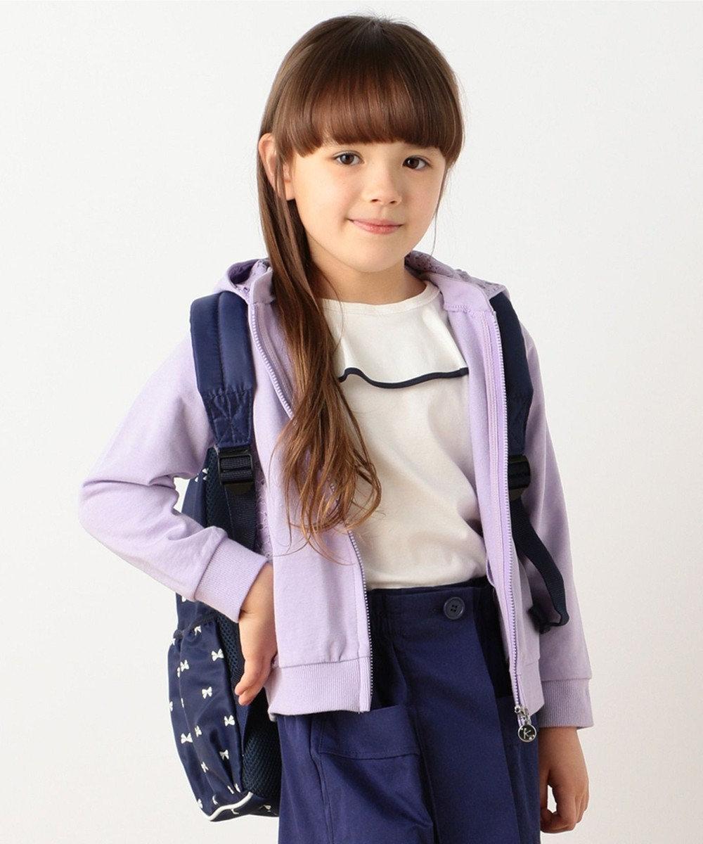 組曲 KIDS 【TODDLER】フレアフリル Tシャツ アイボリー系