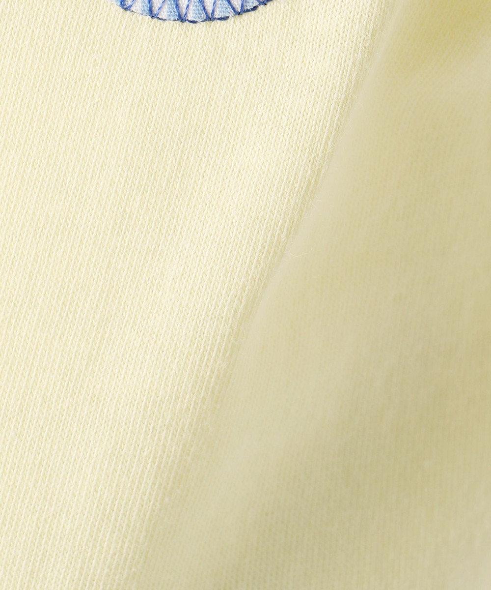組曲 KIDS 【TODDLER】ストライプフルール カットソー イエロー系