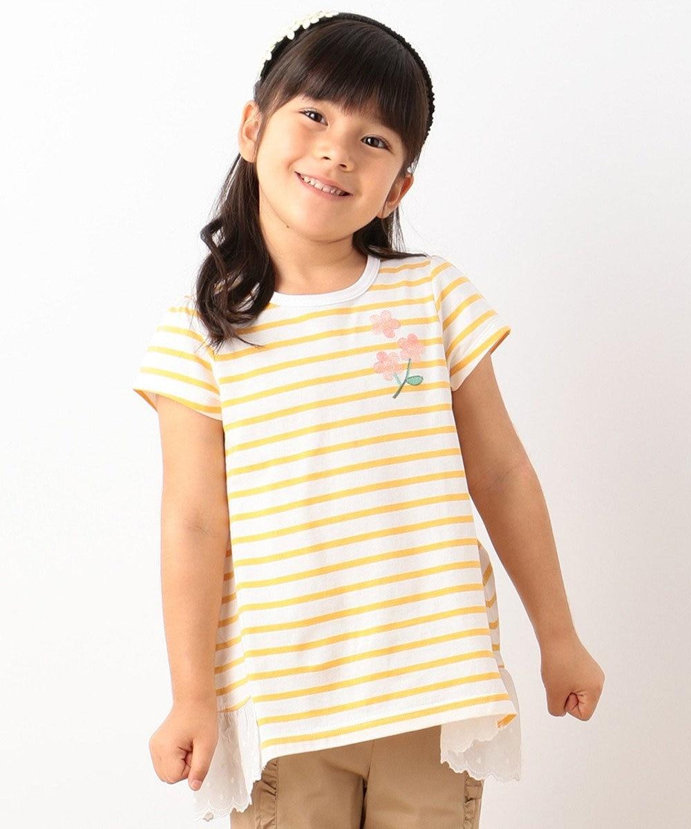 組曲 KIDS 【TODDLER】マリニエール カットソー ライトオレンジ系2