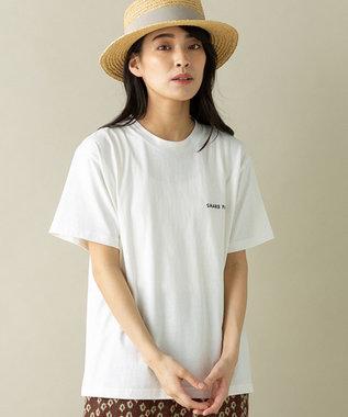 SHARE PARK LADIES 【WEB限定】SHARE PARK ロゴTシャツ ホワイト系