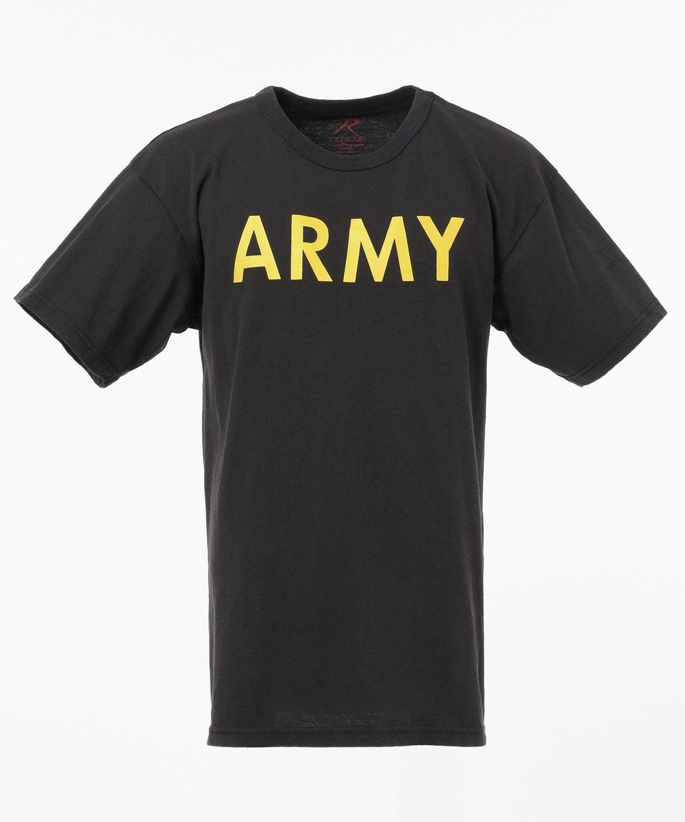 SHARE PARK MENS 〈ROTHCO〉 SW/TRAINING T(ARMY) ブラック系