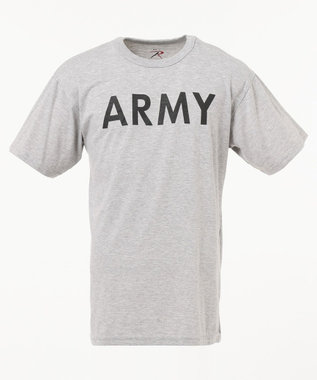 SHARE PARK MENS 〈ROTHCO〉 SW/TRAINING T(ARMY) ライトグレー系