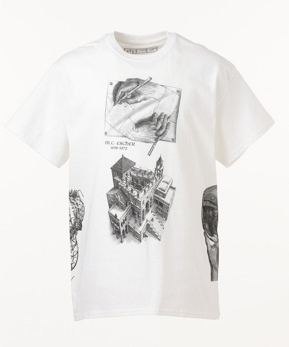 SHARE PARK MENS カルチャー Tシャツ ホワイト系