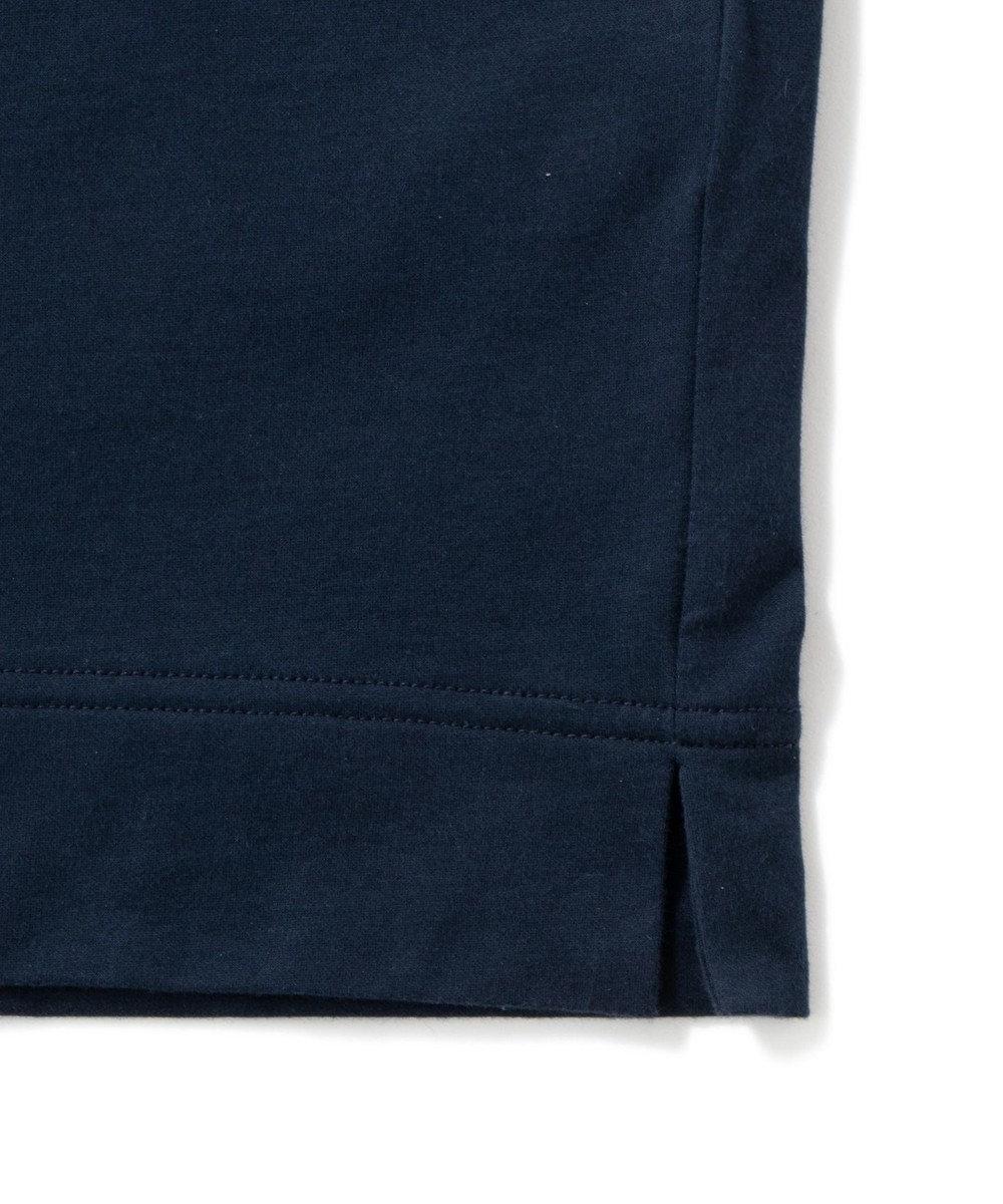 Production Labo 【洗える/オーガニックコットン】クルーネック ロングTシャツ(MENS) グレージュ系
