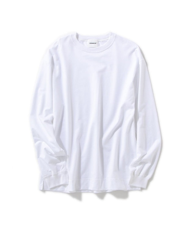 Production Labo 【洗える/オーガニックコットン】クルーネック ロングTシャツ(MENS)