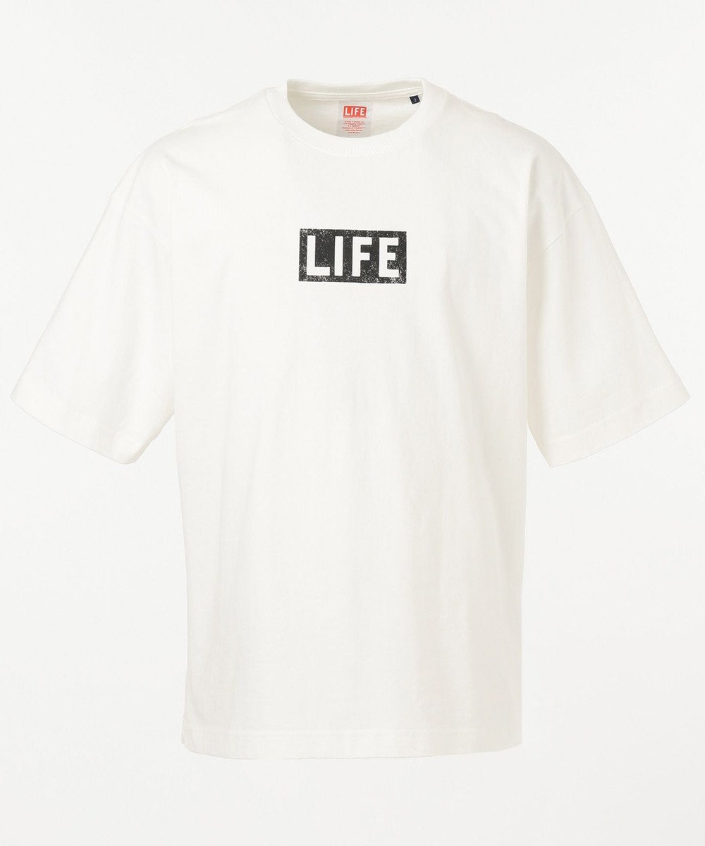 SHARE PARK MENS 〈LIFE〉別注プリントS/ST ホワイト系