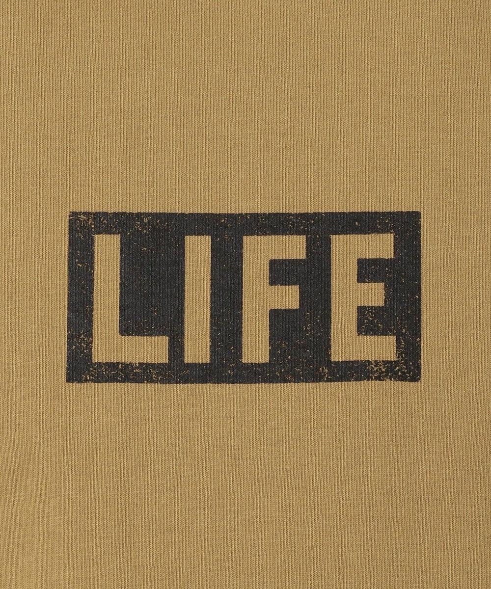 SHARE PARK MENS 〈LIFE〉別注プリントS/ST ベージュ系