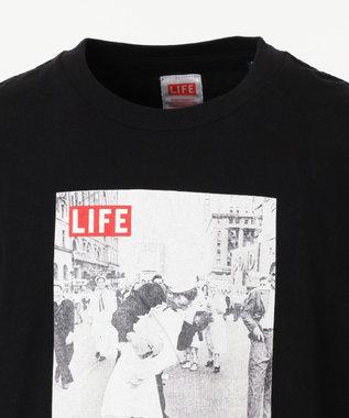 SHARE PARK MENS 〈LIFE〉別注プリントS/ST ブラック系