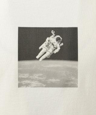 SHARE PARK MENS 〈NASA〉コラボ フォトプリント カットソー ホワイト系2