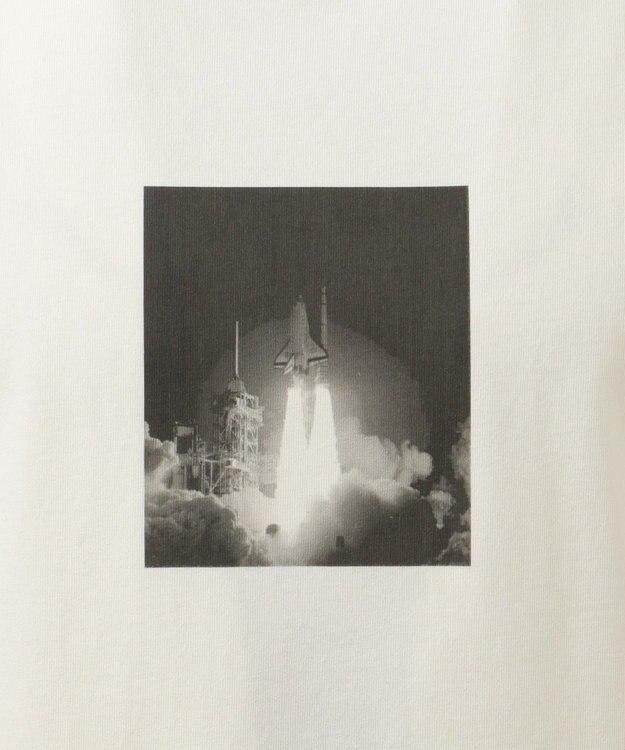 SHARE PARK MENS 〈NASA〉コラボ フォトプリント カットソー