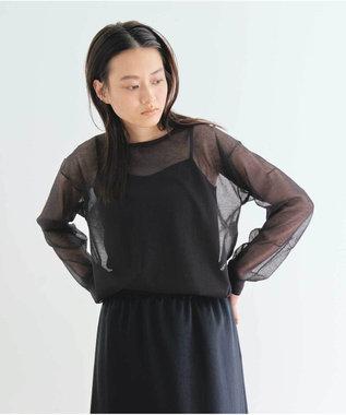 #Newans 【マガジン掲載】ベーシックキャミソール(番号NK43) ブラック系