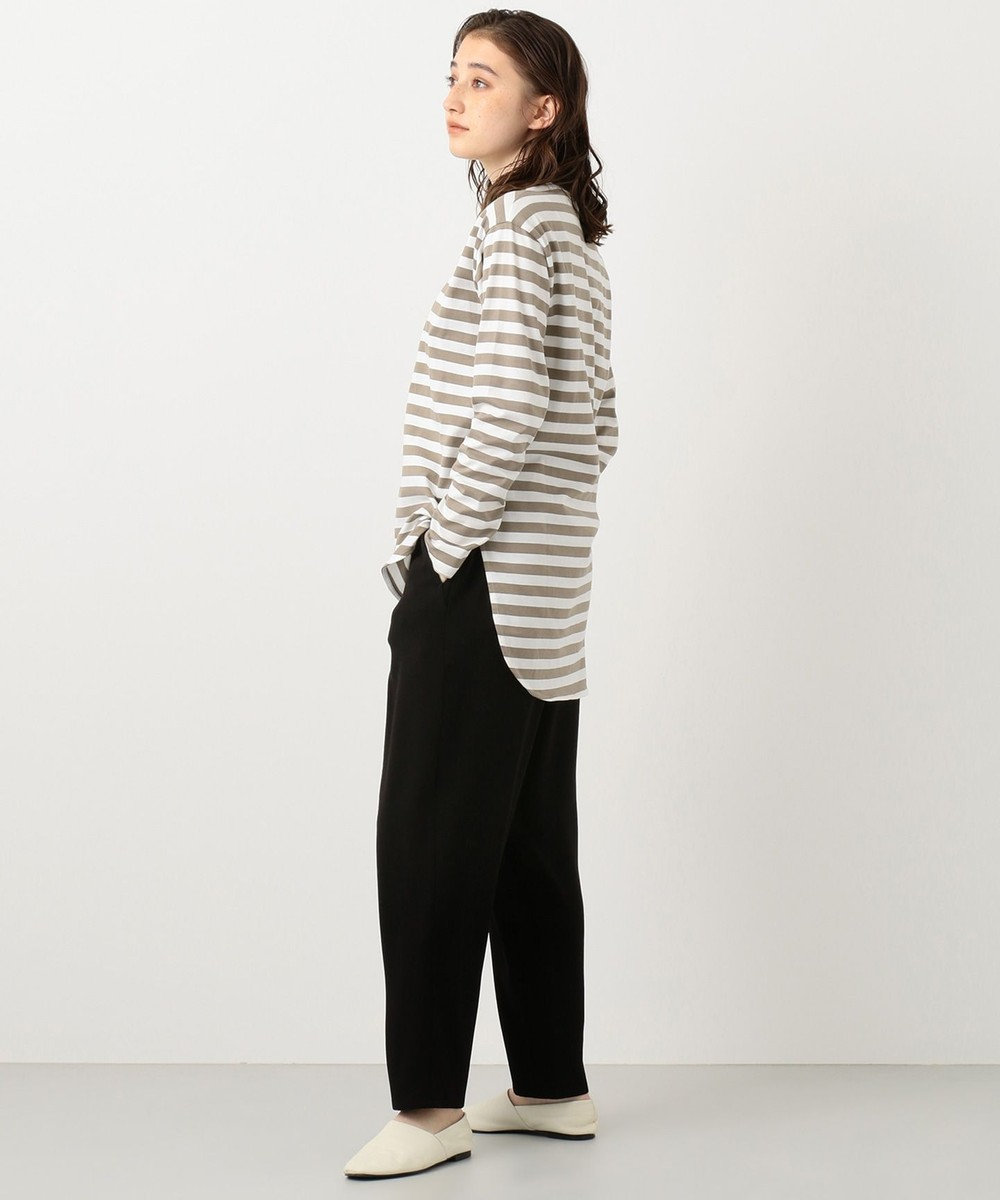 #Newans 【新色登場!】洗える/ ベーシックロングTシャツ(番号NE57) ベージュ系1