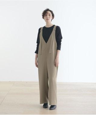 #Newans 【新色登場!】洗える/ ベーシックロングTシャツ(番号NE57) ブラック系