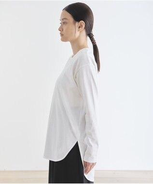 #Newans 【新色登場!】洗える/ ベーシックロングTシャツ(番号NE57) ホワイト系