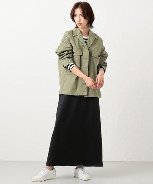 #Newans 【新色登場!】洗える/ ベーシックロングTシャツ(番号NE57) ブラック系1