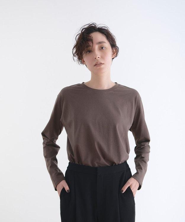#Newans 【新色登場!】洗える/ ベーシックロングTシャツ(番号NE57)