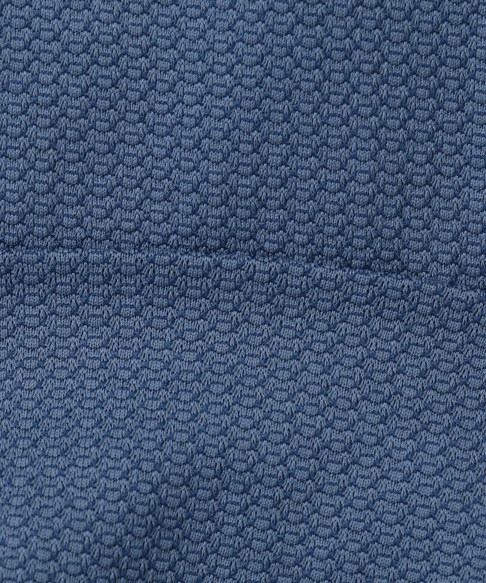 23区HOMME 【キングサイズ】Harrisons衿付き プルオーバー ダルブルー系