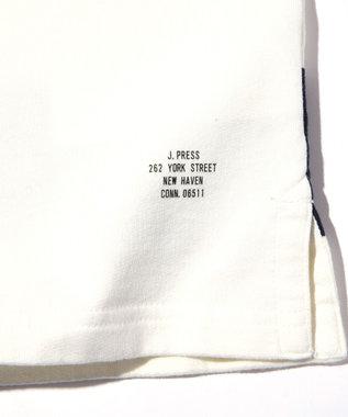 J.PRESS MEN 【J.PRESS ORIGINALS】CRAZY PATTERN RUGBY JERSEY / COTTON INLAY ネイビー系1