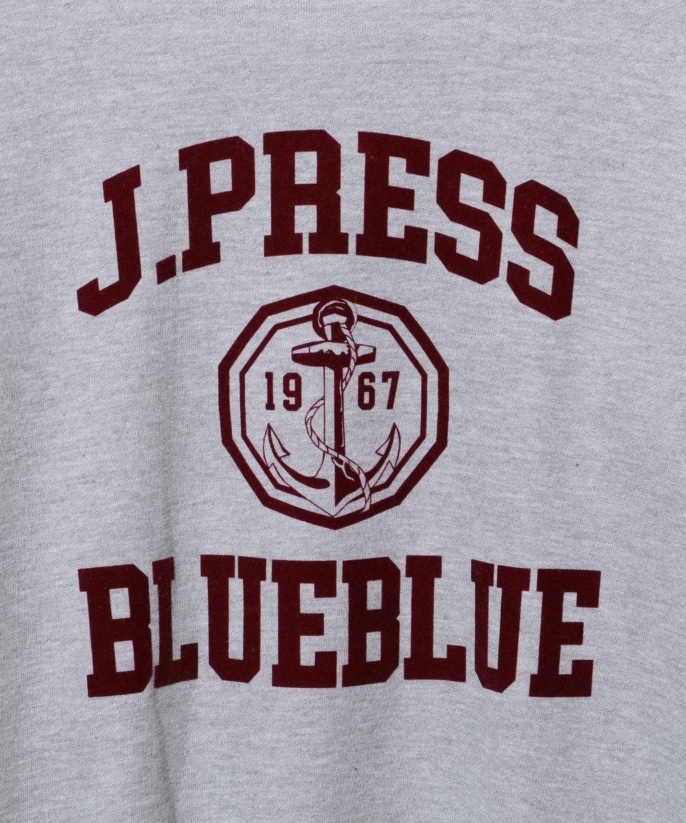 J.PRESS MEN 【BLUE BLUE×J.PRESS】logo sweat ライトグレー系