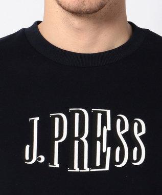J.PRESS MEN CGグラフィック トレーナー (検索番号W128) ネイビー系
