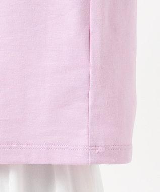 Feroux 【洗える】ロゴ Tシャツ ラベンダー
